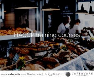 HACCP training courses